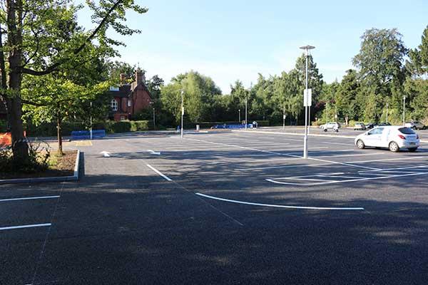 Egham Car Park